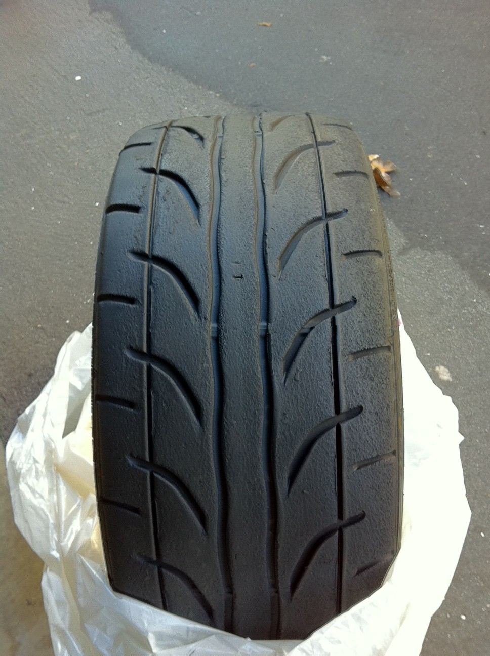 (2) used Dunlop StarSpec Z1 tires 215/40/17 - SoCal