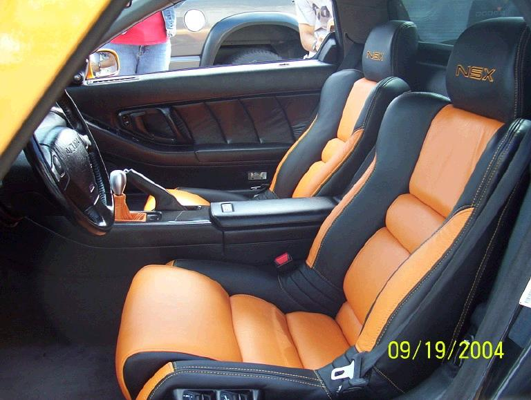 Pic Request Leather Seats With Custom Colored Stitching