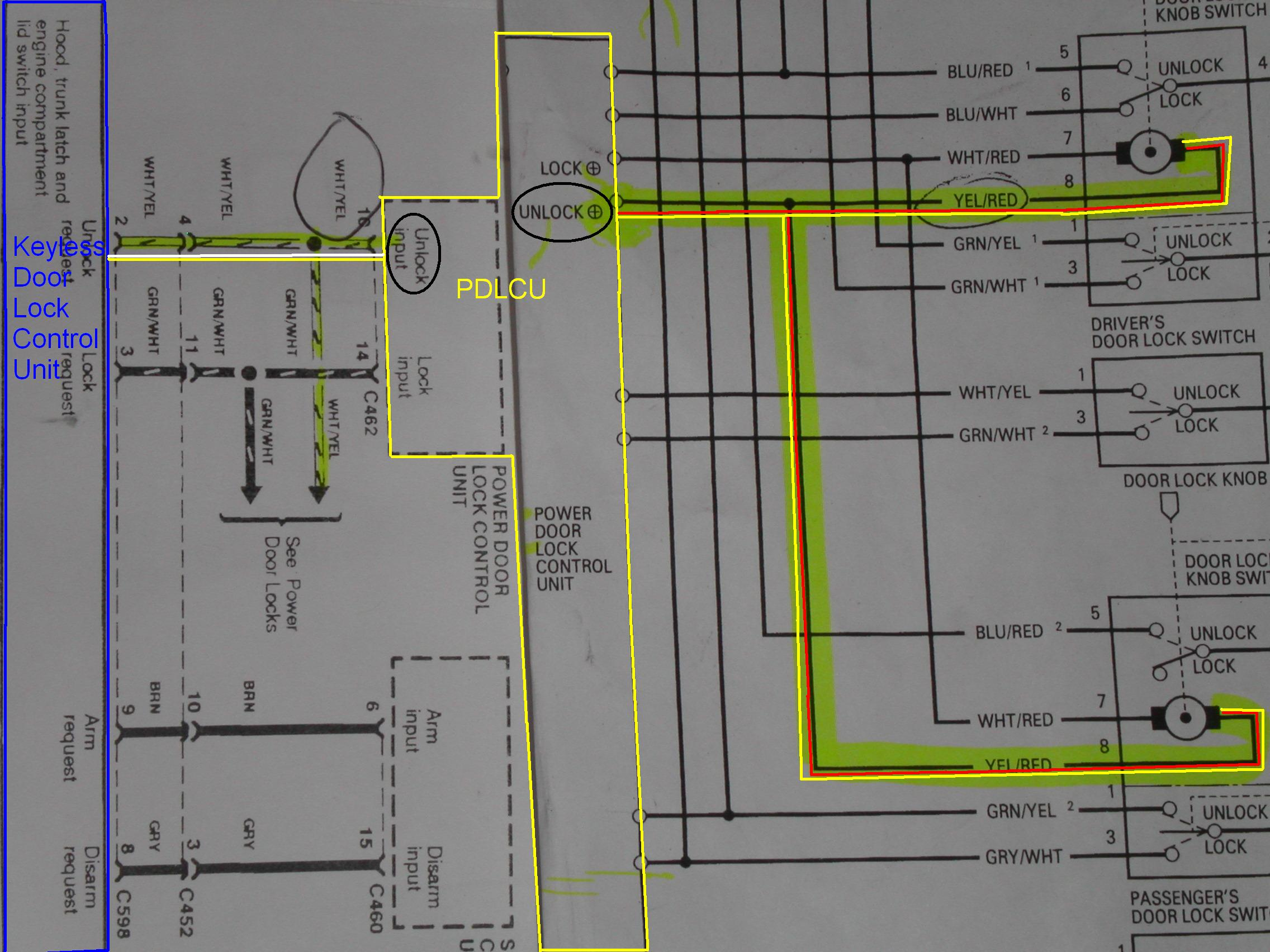 Keyless Wiring Diagram - Anyone