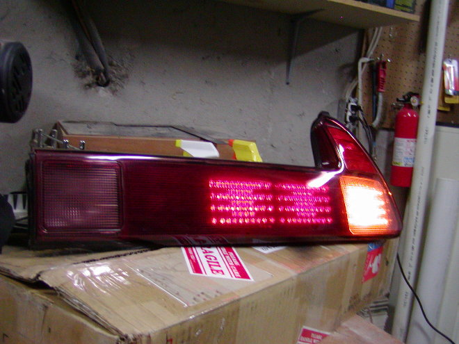 Nsx Custom Tail Lights Interior And Exterior