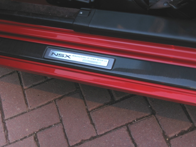 ... carbon fiber door sills with the NSX VIN-plate attached. Picture is not too good was a little dark already. But still I think the sill-plate makes a ... & Replacing sills - help needed