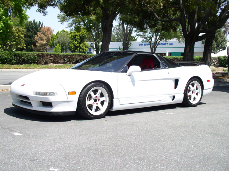 1992 Grand Prix White Black Nsx Vin Jh4na1155nt000745