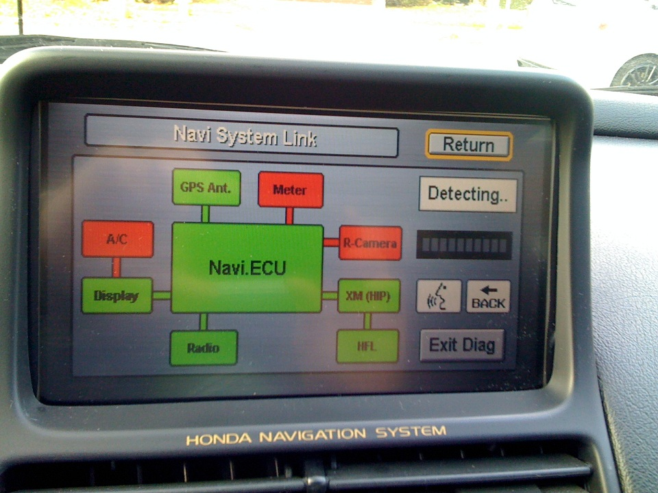 interior 2007 acura tl navigation system for the nsx