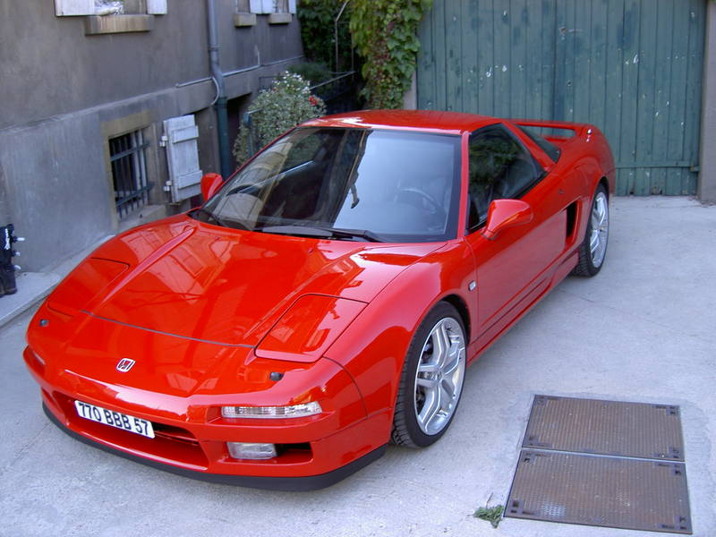 my french red NSX