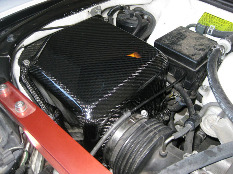 Carbon Fiber Air Box Cover  In Stock And Ready To Ship
