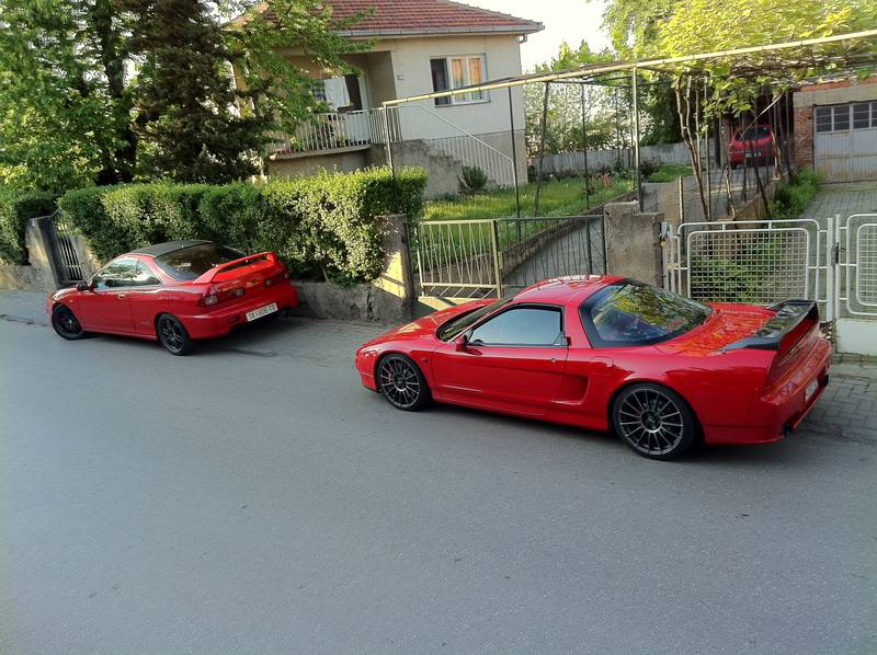 NSX and Teg together