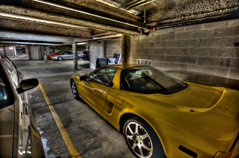 97 Yellow NSX HDR